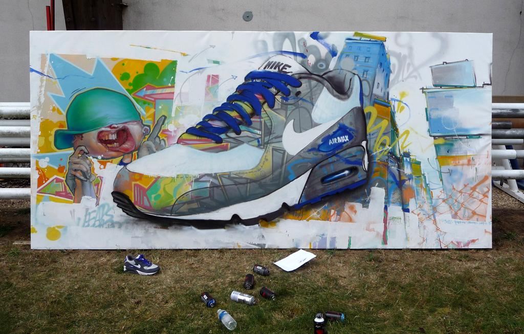 Commande de la société Nike.  © Lartmada.