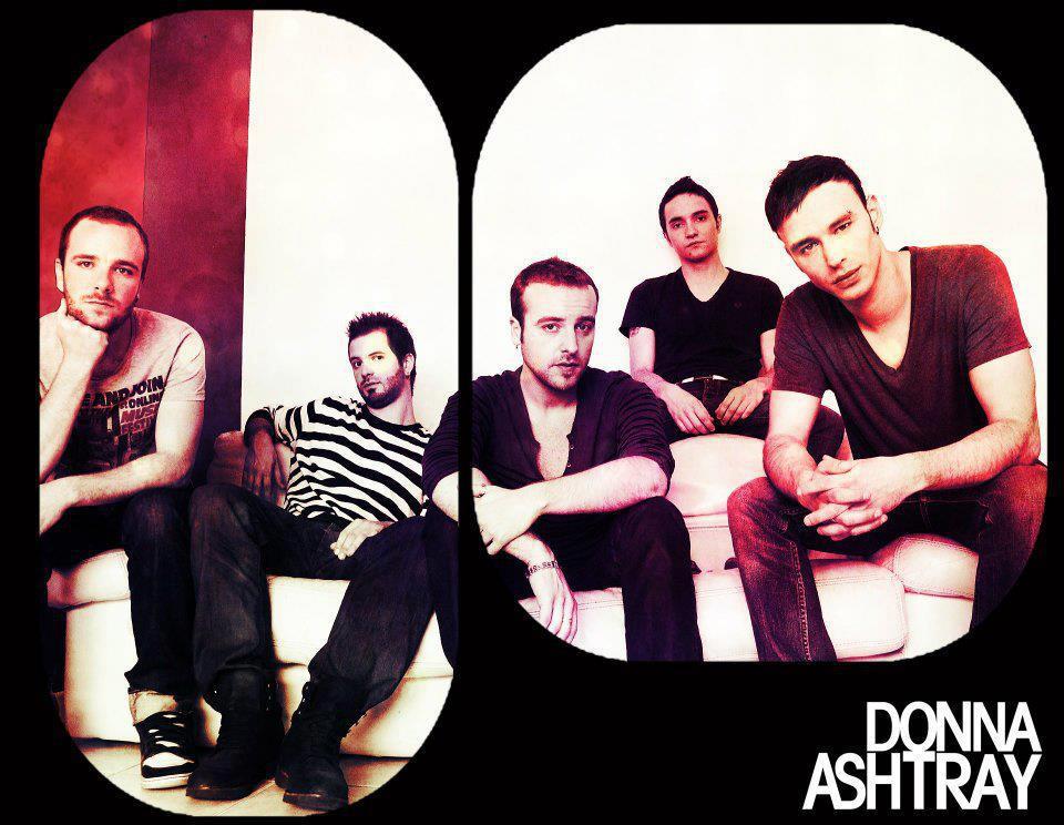Photo officielle du groupe Donna Ashtray. DR