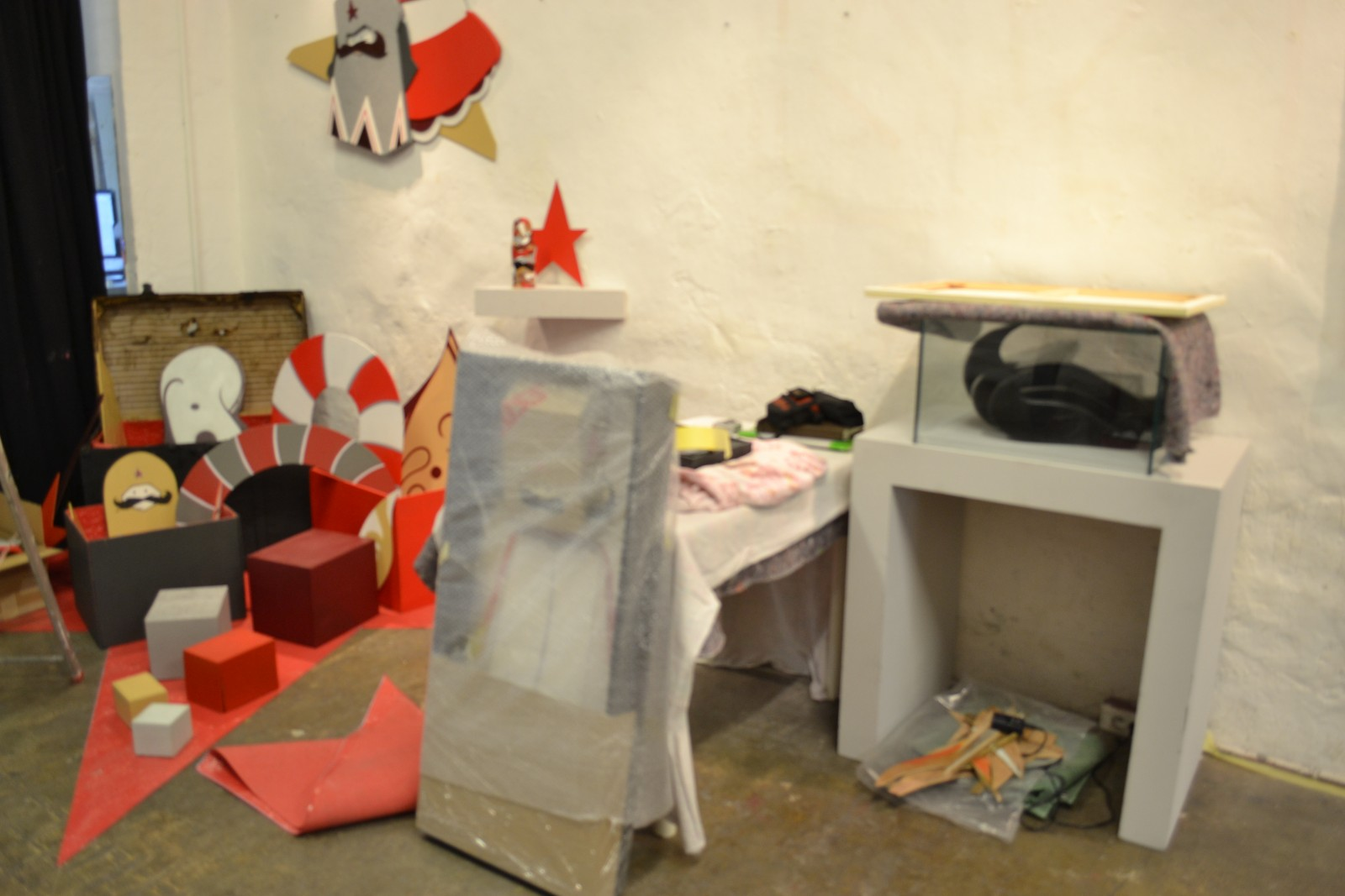 Une installation qui demande travail et concentration.  © H.T.
