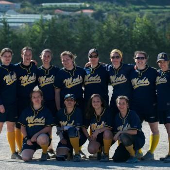 L'équipe féminine de softball des Meds. © Meds.