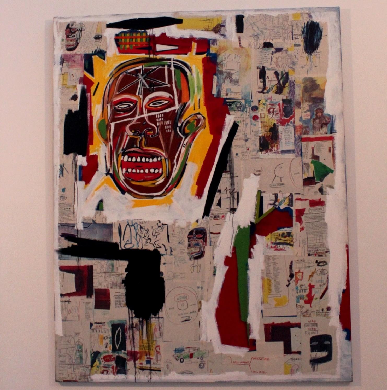 Jean-Michel Basquiat, King of the Zulu, 1984-1985, collection du [mac] Marseille. Photo ©AL