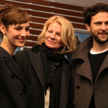 Nicole Garcia entourée par Louise Bourgoin et Pierre Rochefort. ©AL