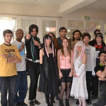 Les membres de l'association Aoi Sora de Marseille ©MD