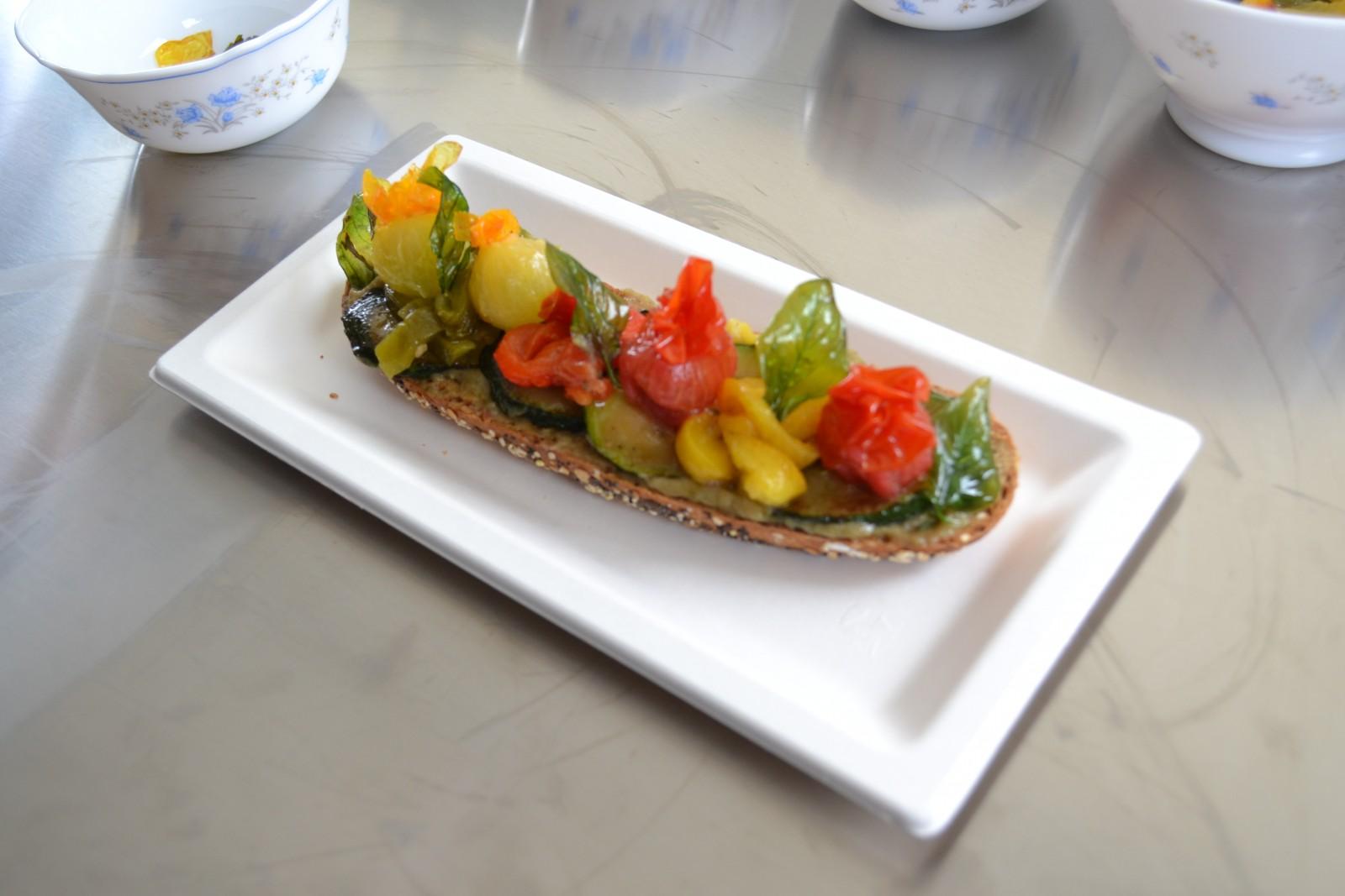 La Gariguette, une des spécialités de la Cuisine qui roule. ©MD