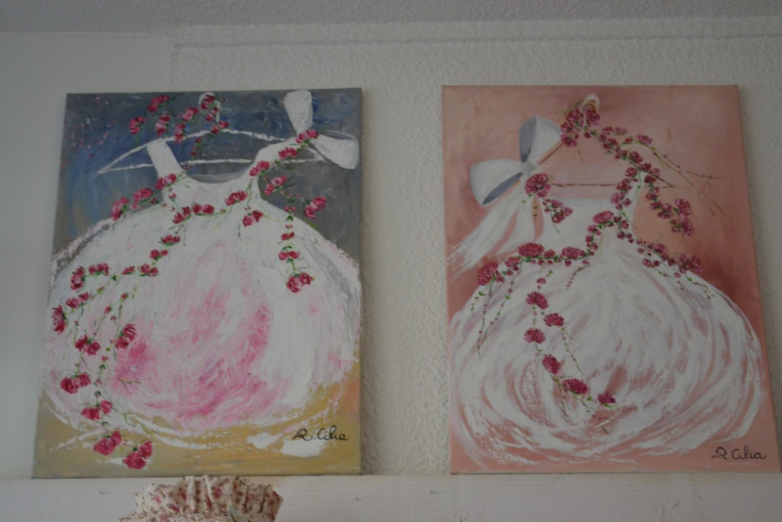 Les peintures de Renée. ©MD