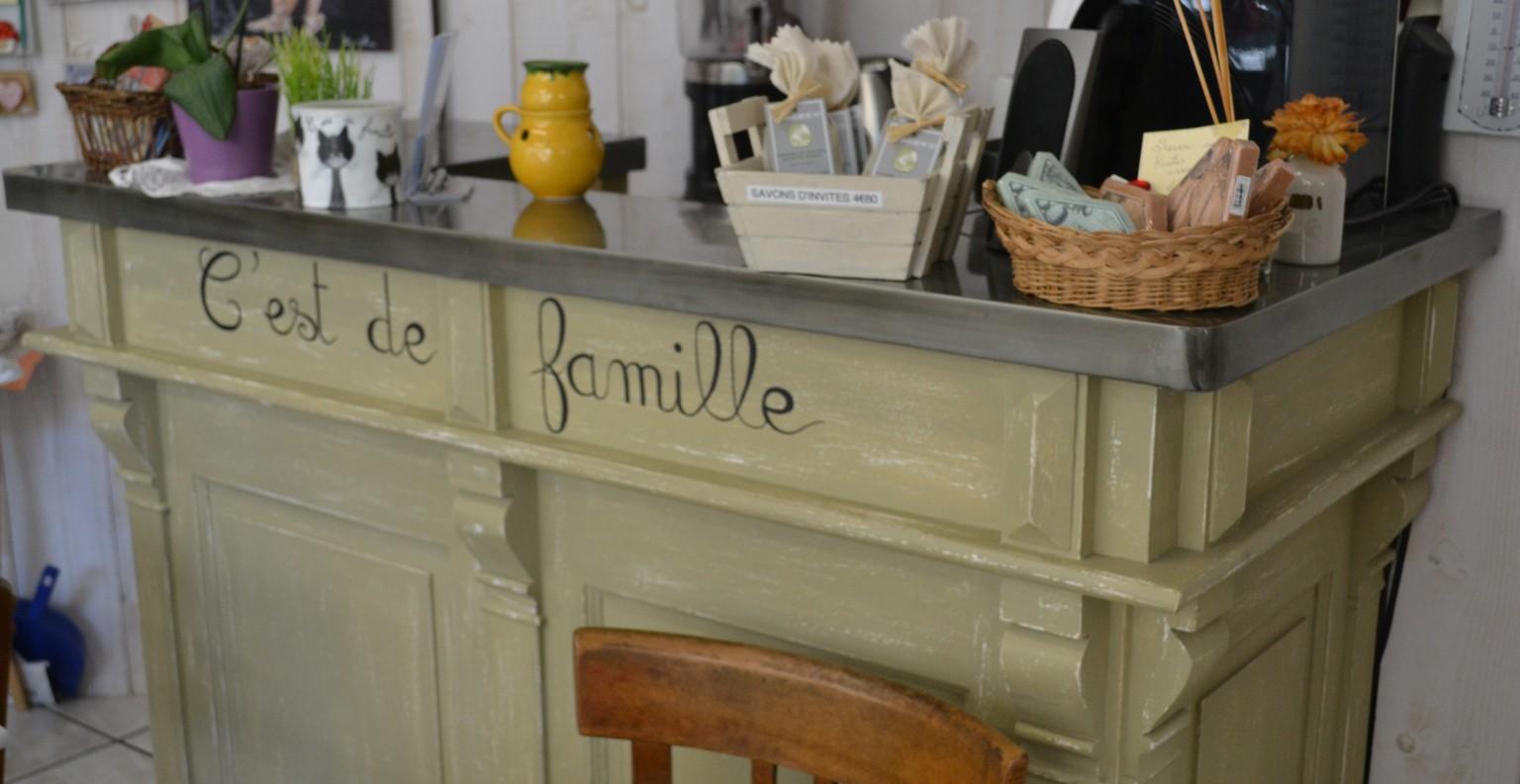 Comptoir du salon de thé. ©MD