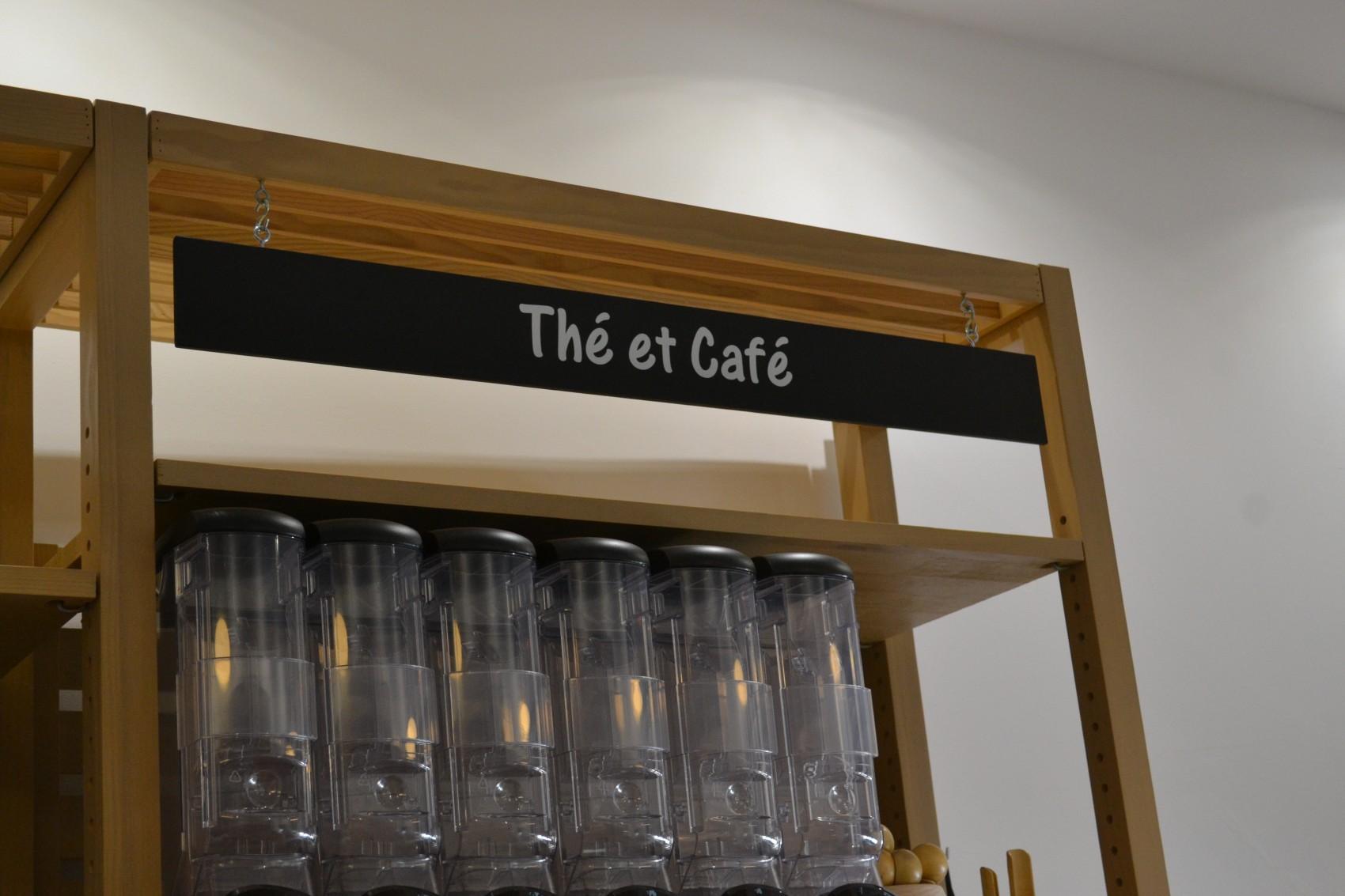 Du thé et du café sont en vente au détail ©MD