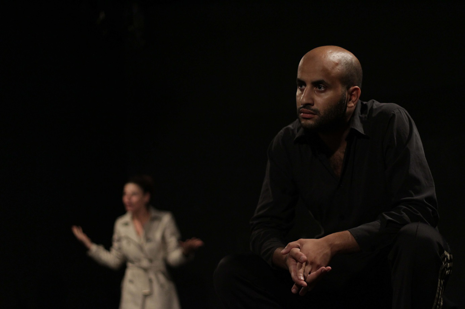Amine Adjina, comédien  ©Jérémy F Marron