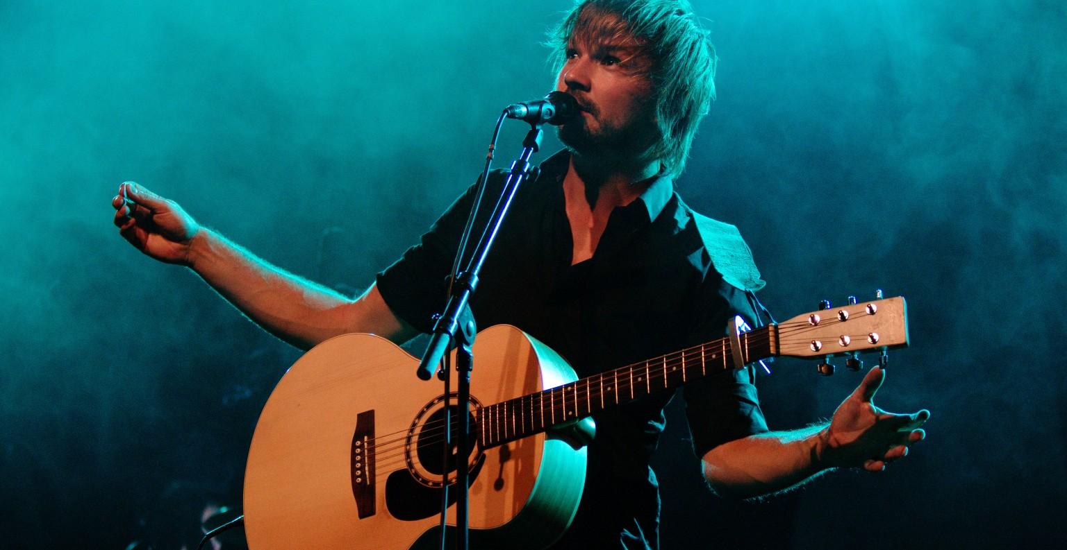 Nicolas Pantalacci, alias Monsieur Lune, en concert. ©E.Joly