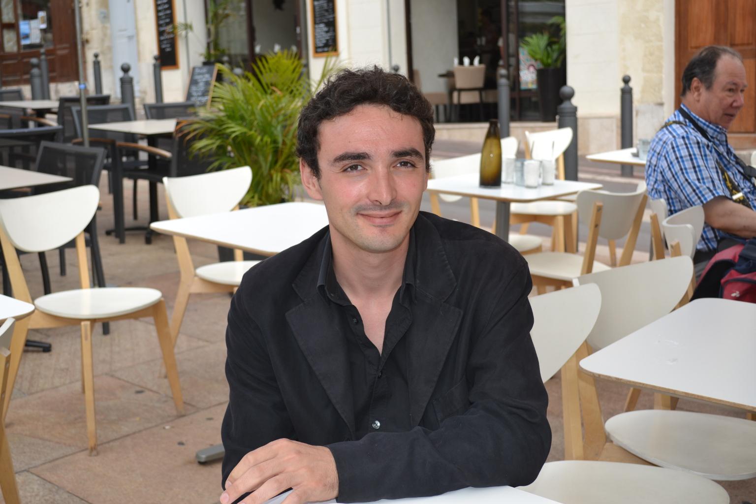 Vincent Franchi, metteur en scène ©MD