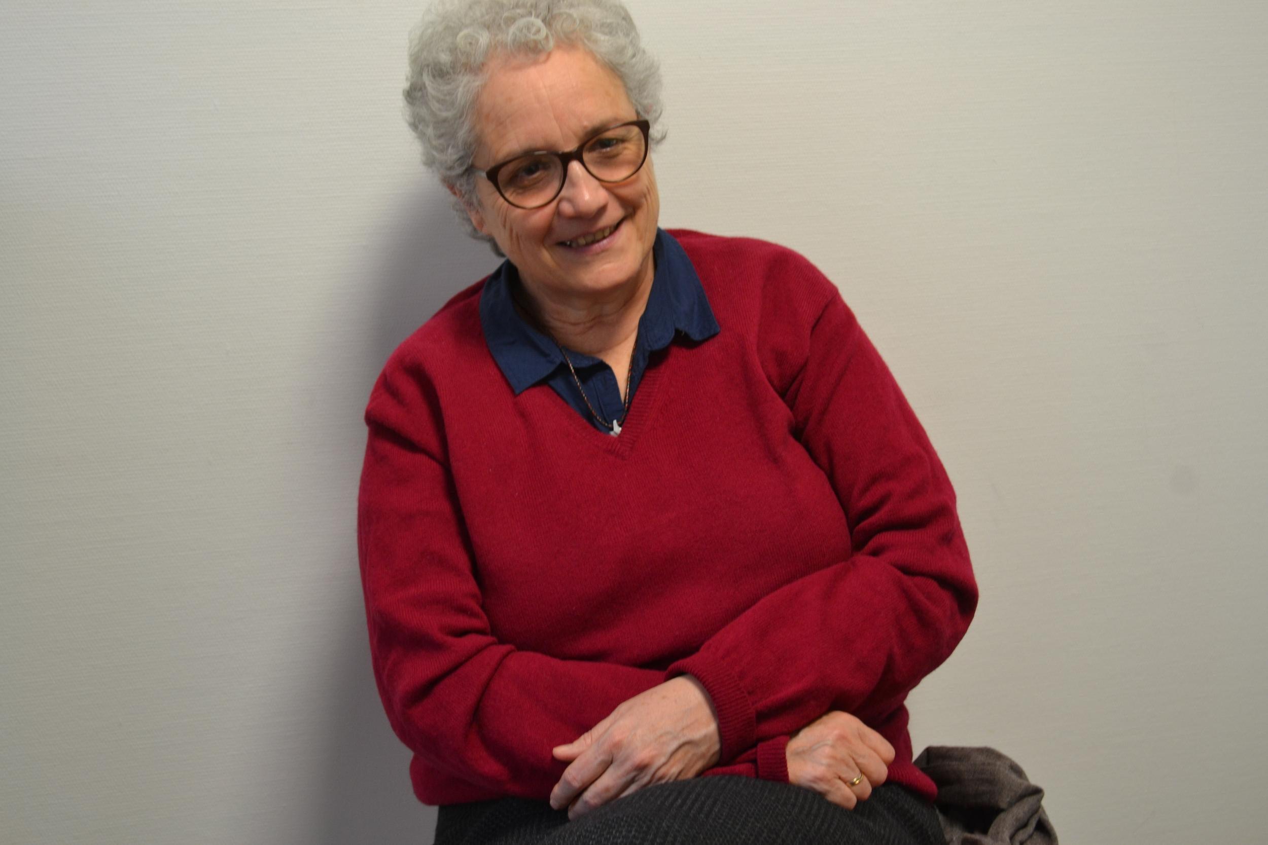 Soeur Colette Hamza est également enseignante à l'Institut Catholique de la Méditerranée. ©MD