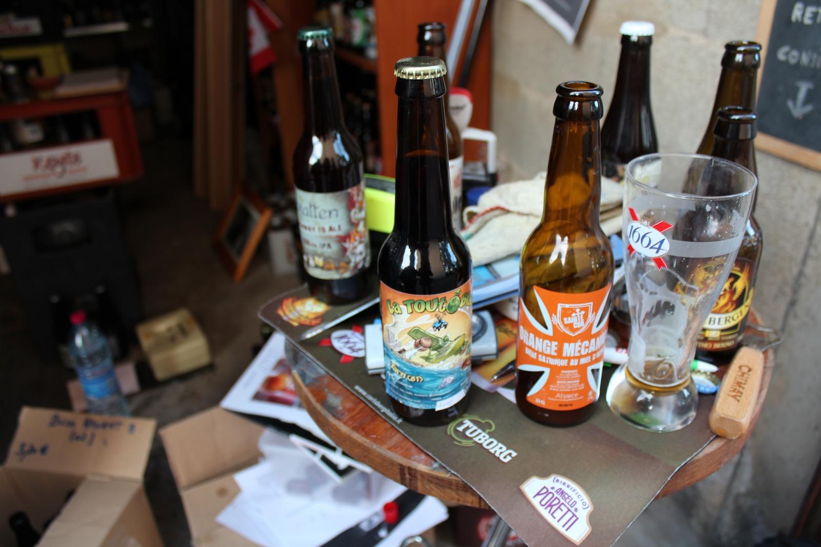 """""""Il y a beaucoup d'humour et de second degré pour les noms de bières"""" ©AL"""