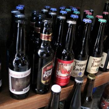 Ce sont plus de 350 bières qui sont mises à disposition des clients de Patrick ©AL