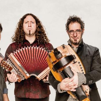 Les membres du groupe : Simon Beaudry, Réjean Brunet, Nicolas Boulerice et Olivier Demers. ©Stéphane Najman