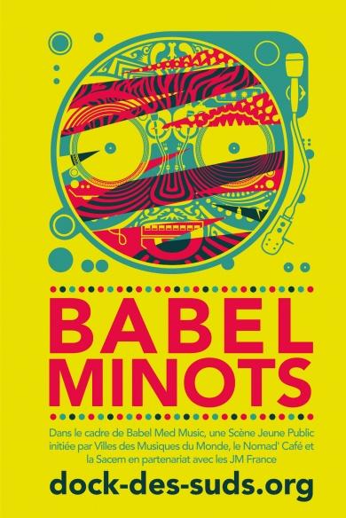 Babel Minots, c'est la nouveauté 2015, à découvrir au Nomad'Café. ©DR