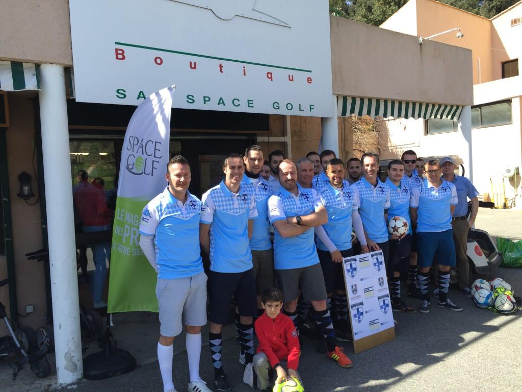 L'équipe du Marseille Provence Footgolf ©DR
