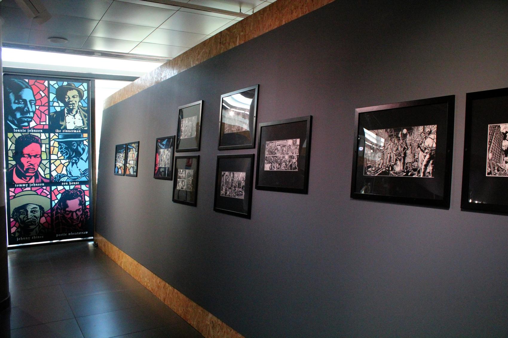 Une exposition à l'Office du Tourisme d'Aix-en-Provence propose de découvrir les planches et les esquisses de Mezzo ©AL