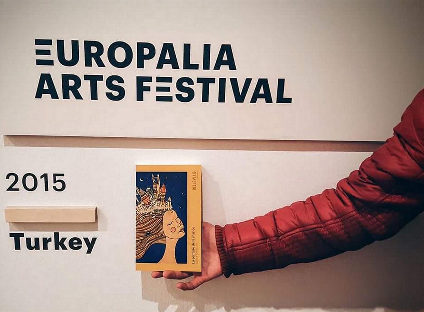 Le livre a été présenté pour la première fois au festival belge Europalia Arts festival en 2015. ©DR