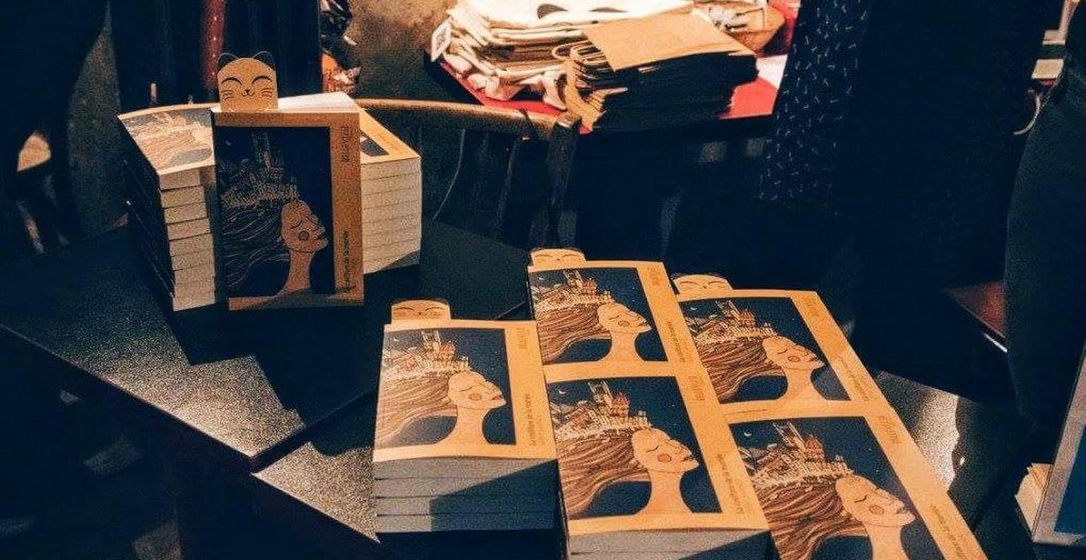 La Coiffure de la Mariée leur premier livre a été vendu à 300 exemplaires. ©DR