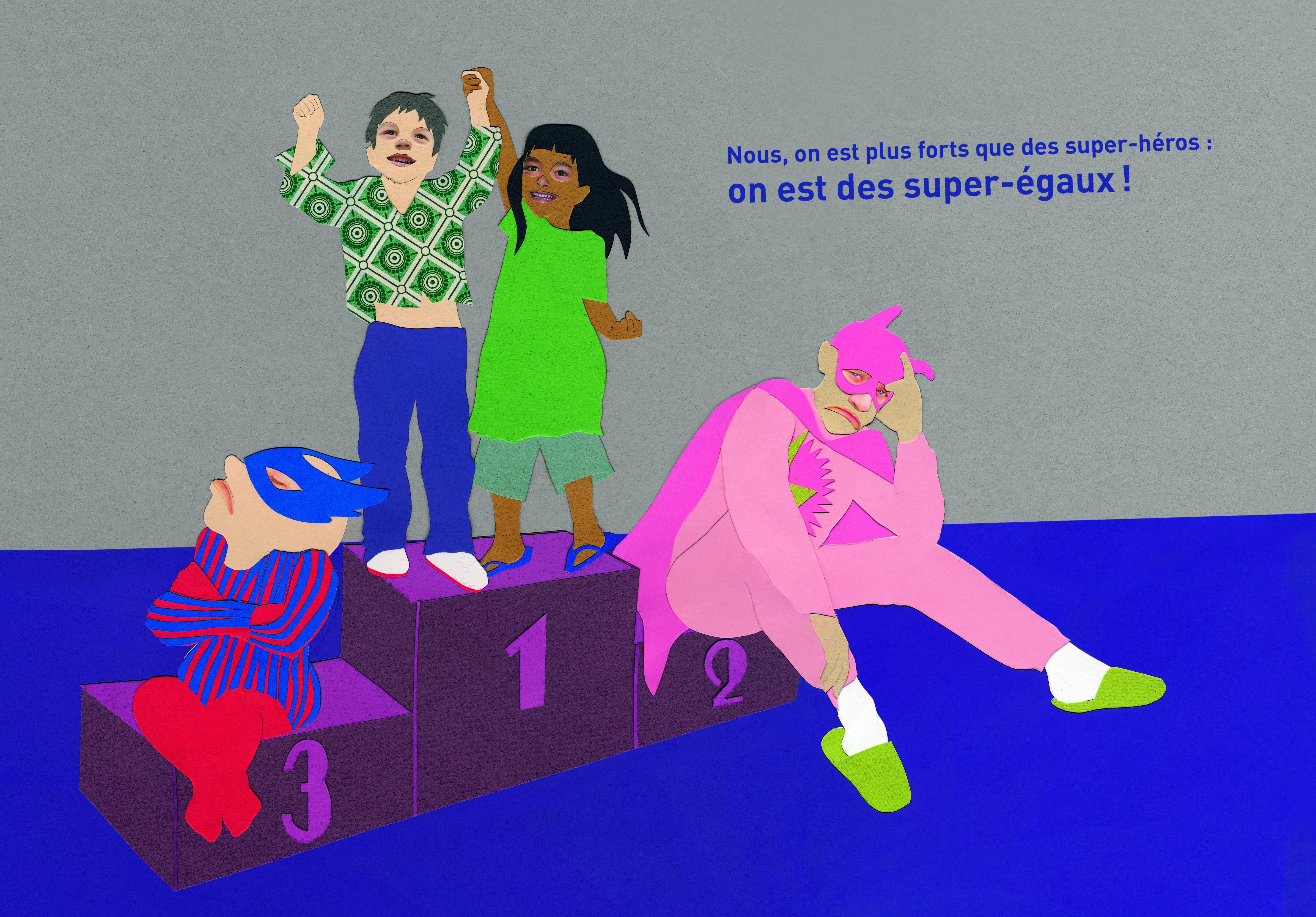 Ni poupées, ni super-héros explique le féminisme aux enfants. ©DR