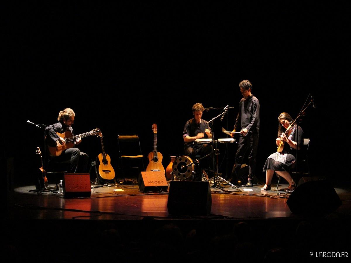 Le quartet Zé Boiadé joue du choro en modernisant la musique traditionnelle. ©La Roda