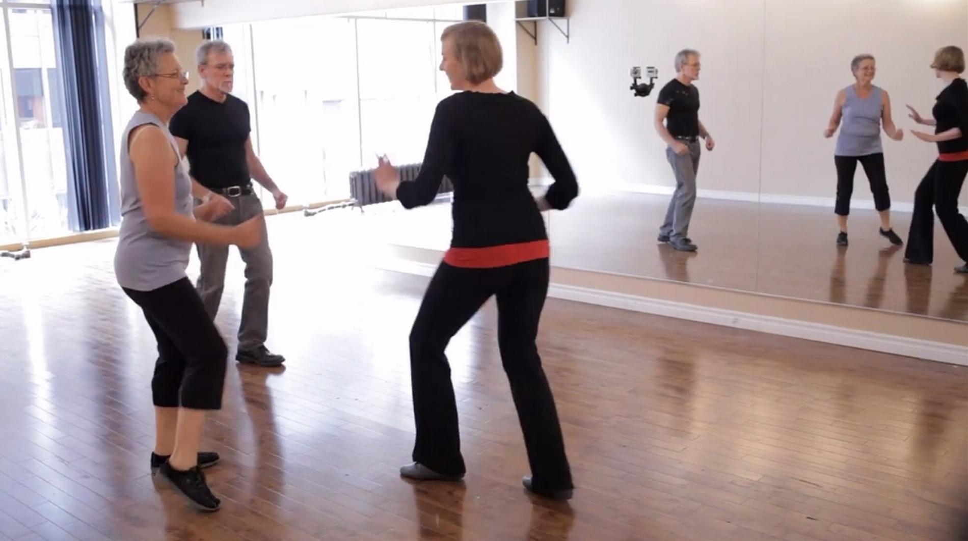 Parkinson en mouvement propose des cours dans trois quartiers de Montréal. ©PEM