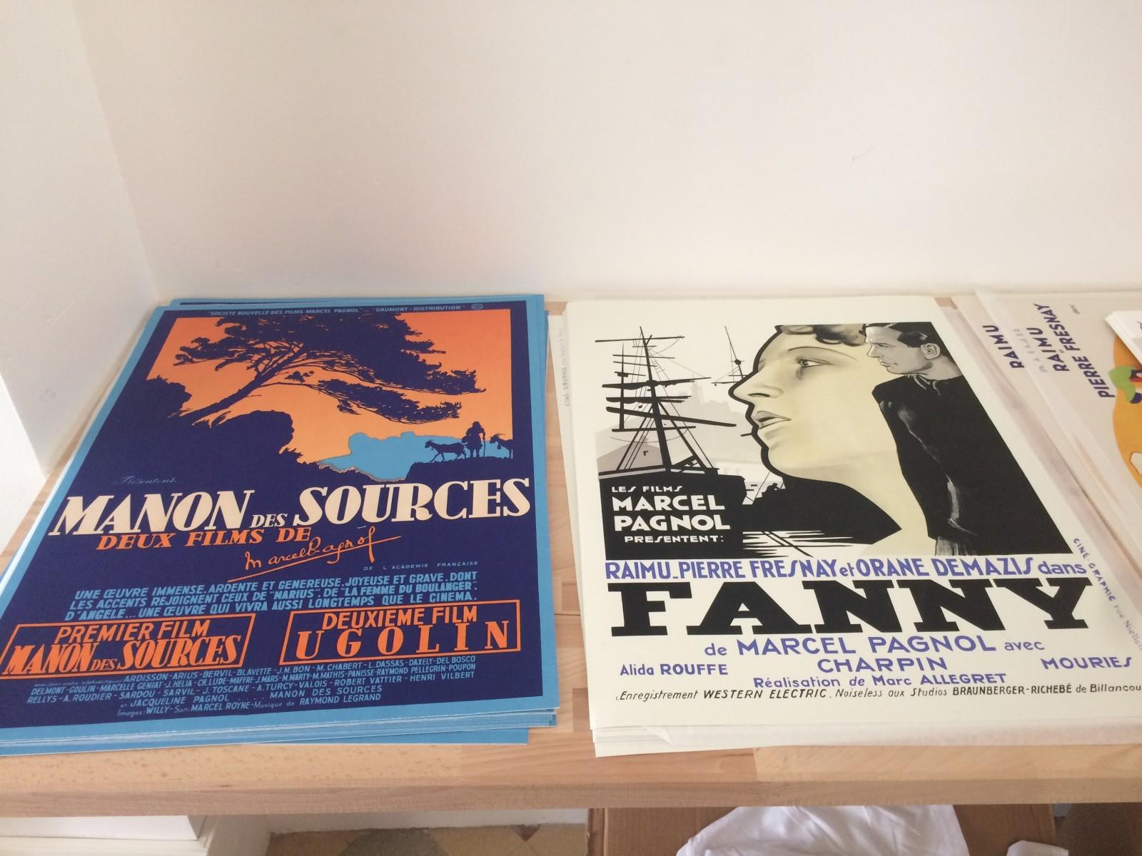 Les affiches d'époque sont reproduites. ©MD