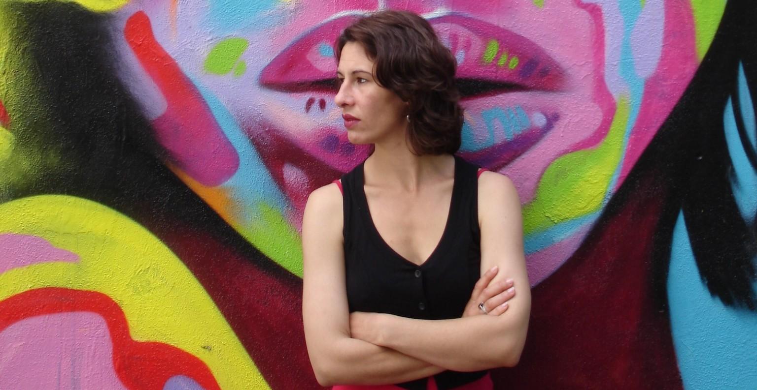 Virginie Aimone joue 80% des pièces du collectif. ©DR