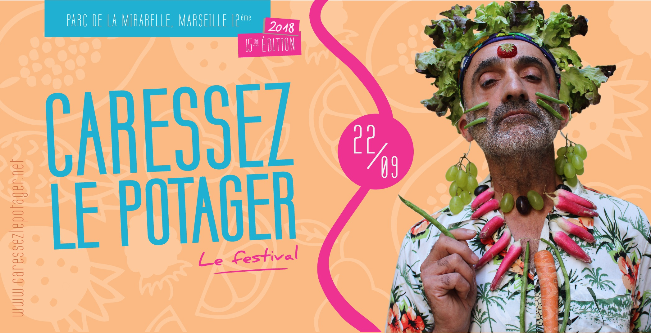Affiche de l'édition 2018 du festival. ©DR