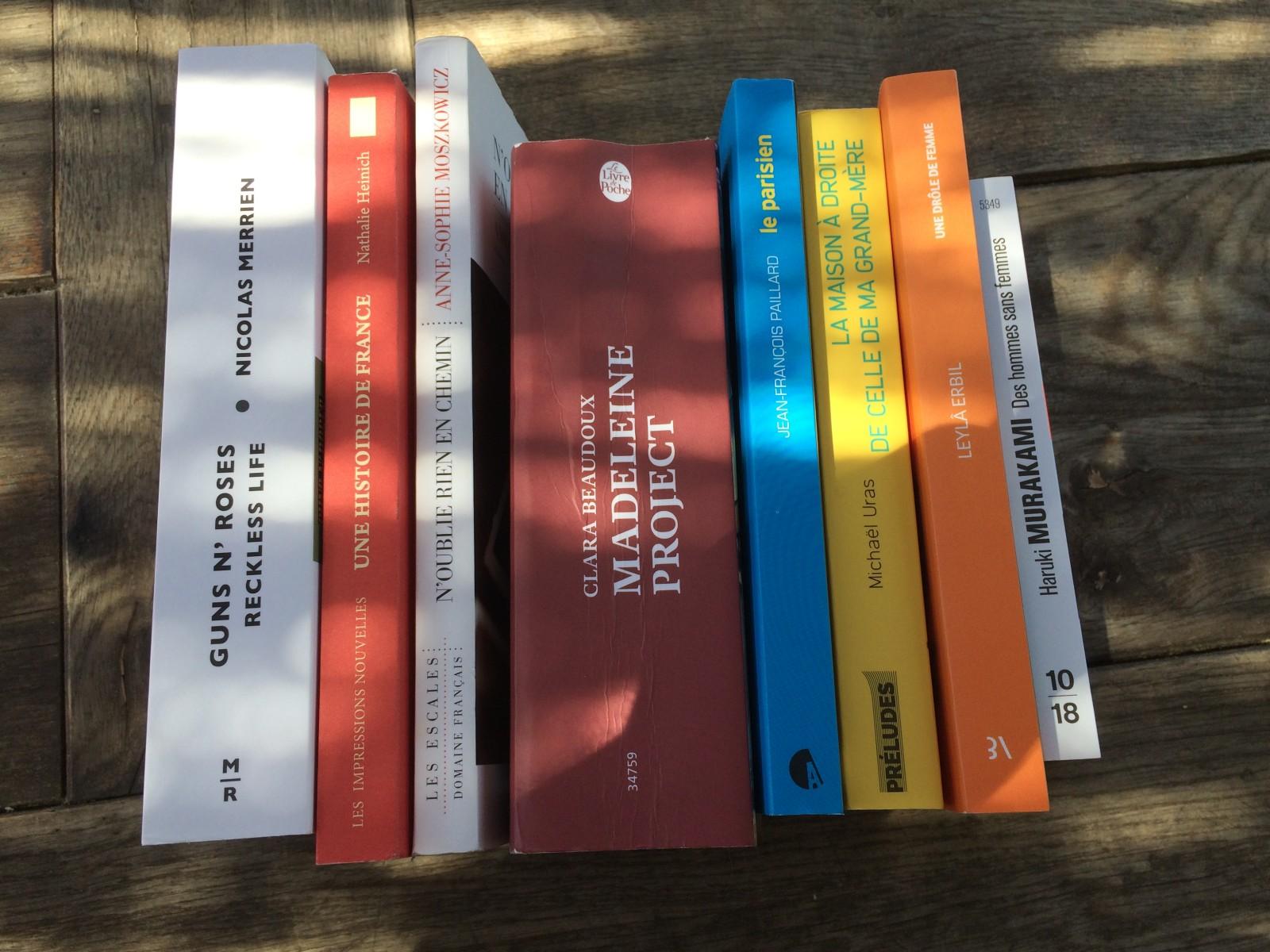 Des ouvrages à découvrir d'urgence! ©MD