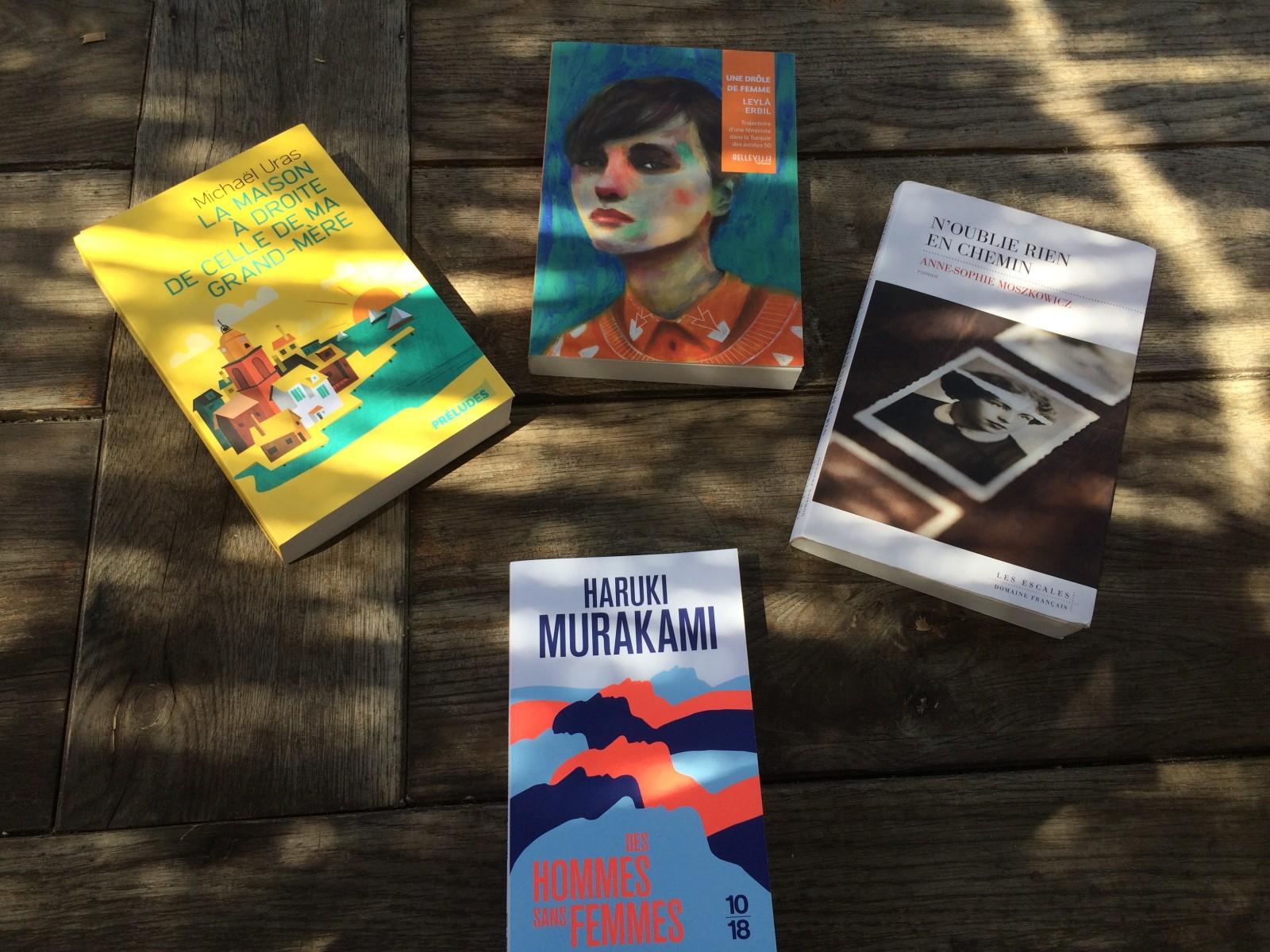 Des romans différents mais tout aussi passionants. ©MD
