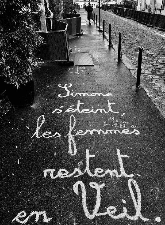 L'accroche inspirée par le décés de Simone Veil a été la plus virale. ©Achbé