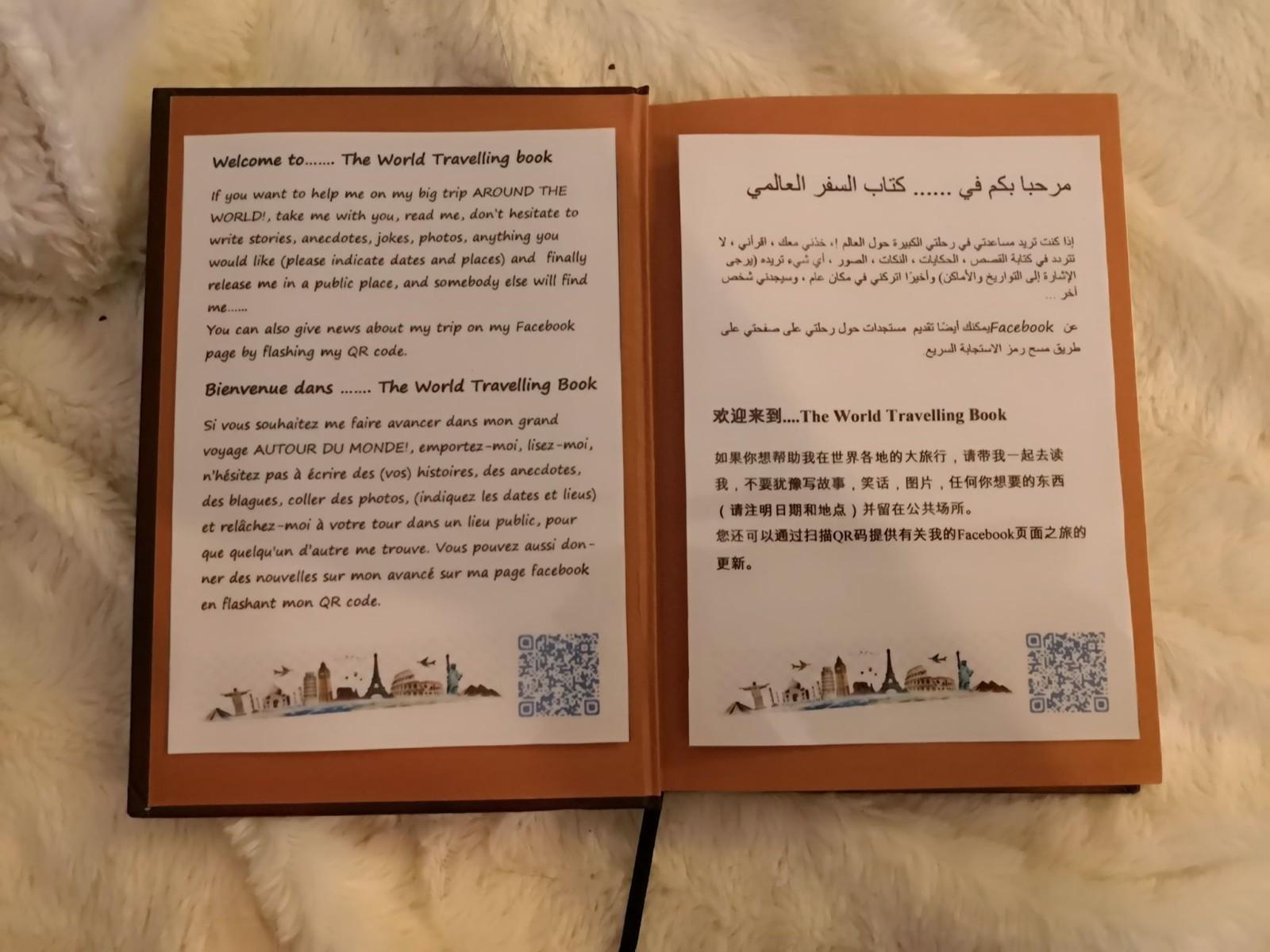 La présentation du projet a été traduit en quatre langues différentes. ©DR