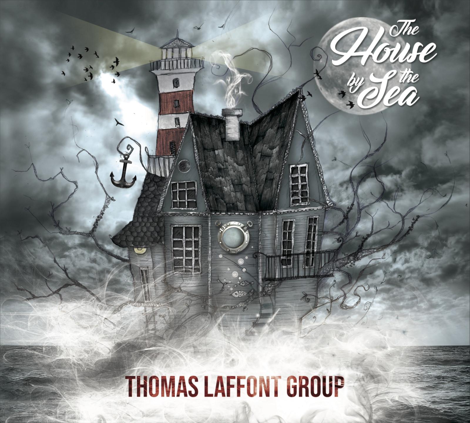 Thomas Laffont a voulu une véritable identité visuelle pour la pochette de son album. ©DR