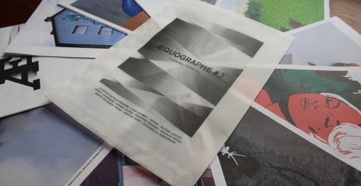Æquographe est tirée à 250 exemplaires. ©Æquographe