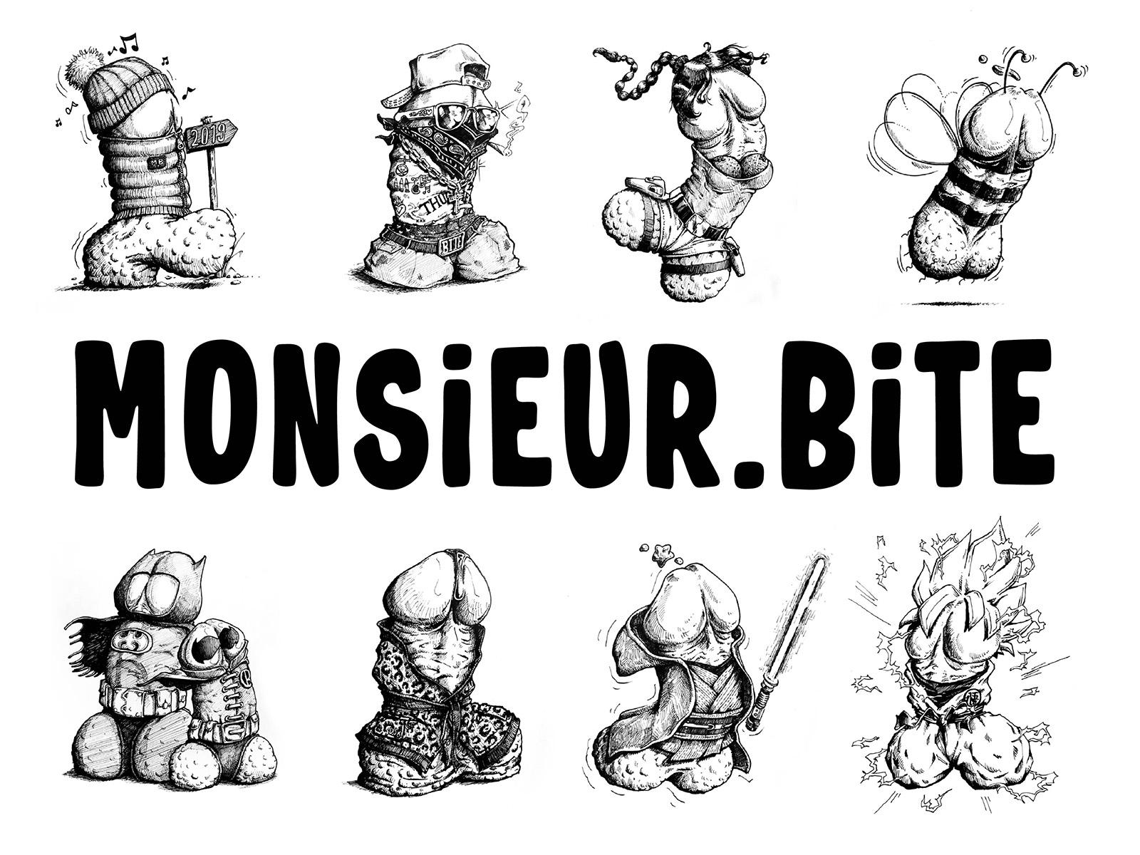 Un collectionneur d'art a envoyé un billet rare pour que le dessinateur propose une œuvre orginale. ©Monsieur Bite