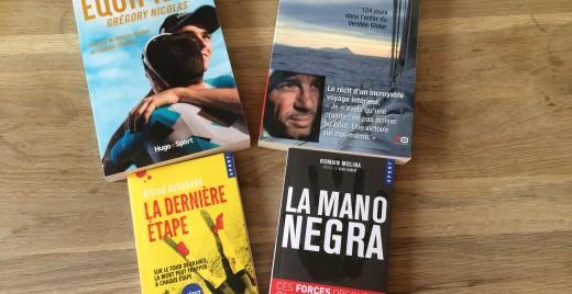 Quelques idées de lectures et de cadeaux pour les amateurs de sport. ©MD