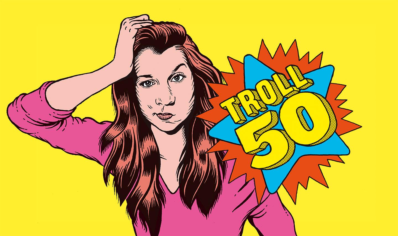Klaire fait Grr a imaginé Troll 50 pour Arte Radio, un podcast dans lequel elle dialogue avec une chanson.