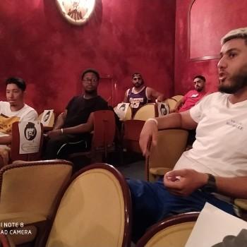 Les jeunes participent à un atelier stand-up du 23 au 24 juillet.