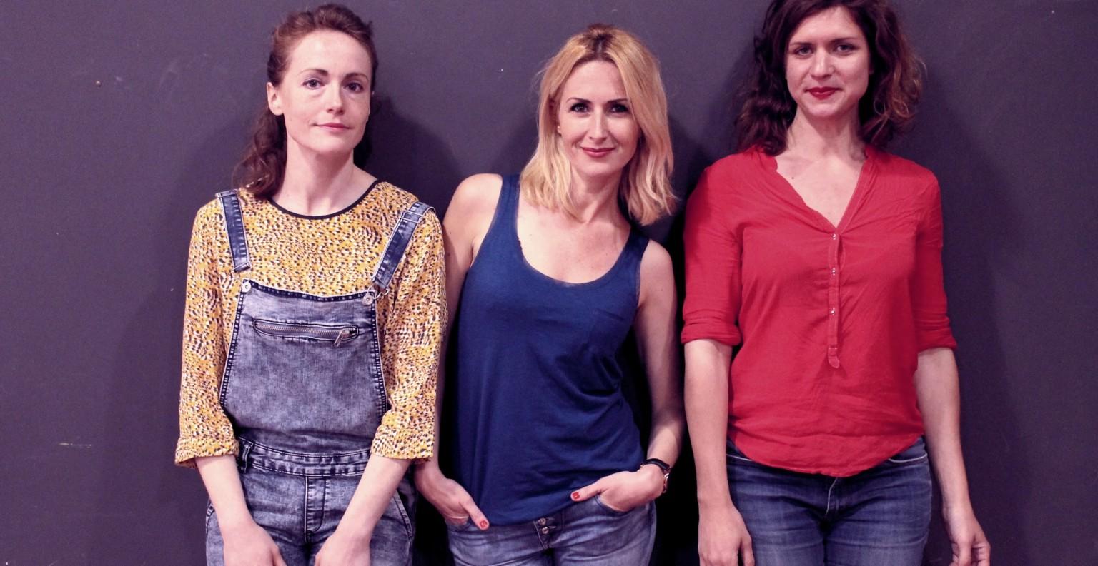 Cécile Peyrot ,Sophie Payan et Justine Assaf  seront sur la scène du théâtre  Toursky le 26 septembre à 20h30. ©DR