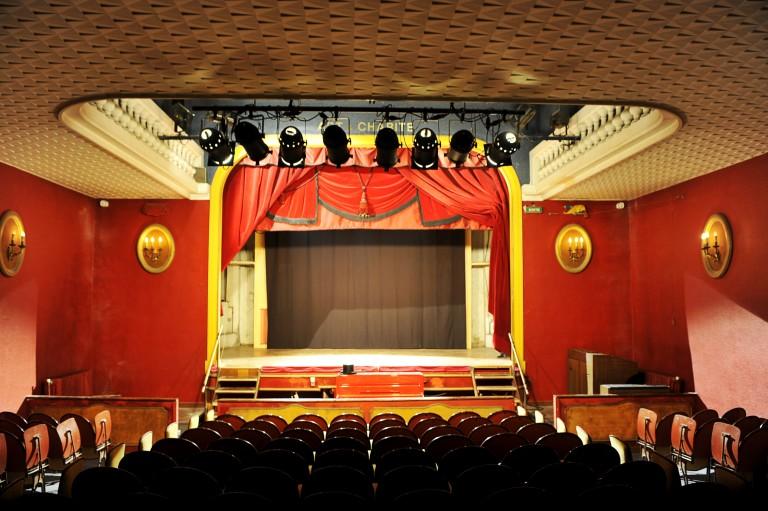 La salle du théâtre a été remise aux normes pour pouvoir accueillir du public. ©DR